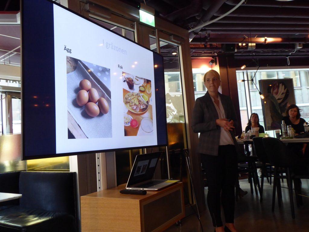 Veronica Hedberg berättar om forskningen kring hur vi ska äta för att må bättre och bli smartare.