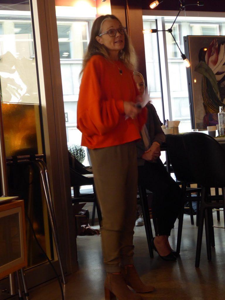 Susanne Hovenäs berättar om receptdelen i boken.