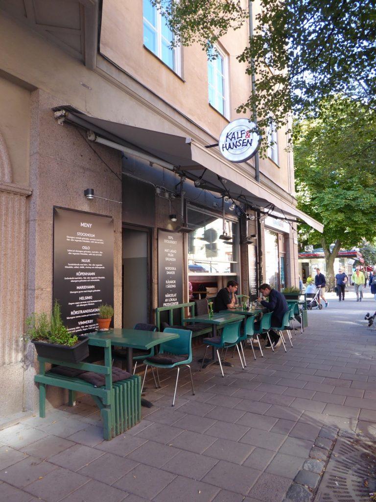 Flippin' Burgers Jon Widegren gästspelar på Kalf & Hansen