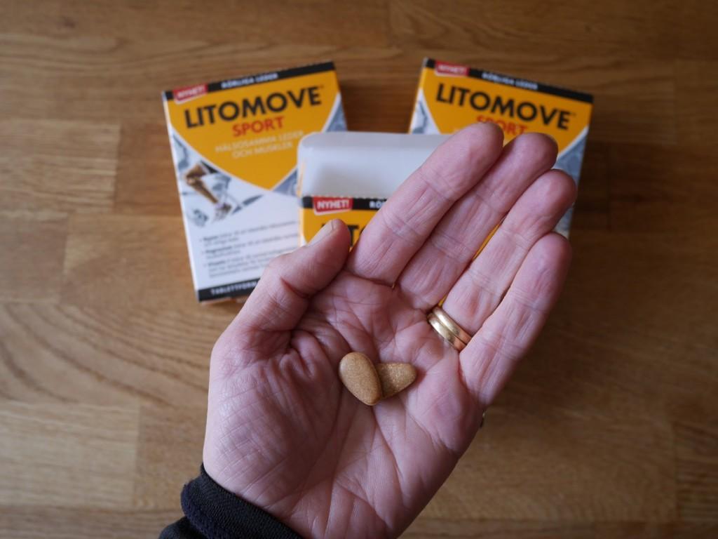 En tablett om dagen för hälsosamma muskler och leder.