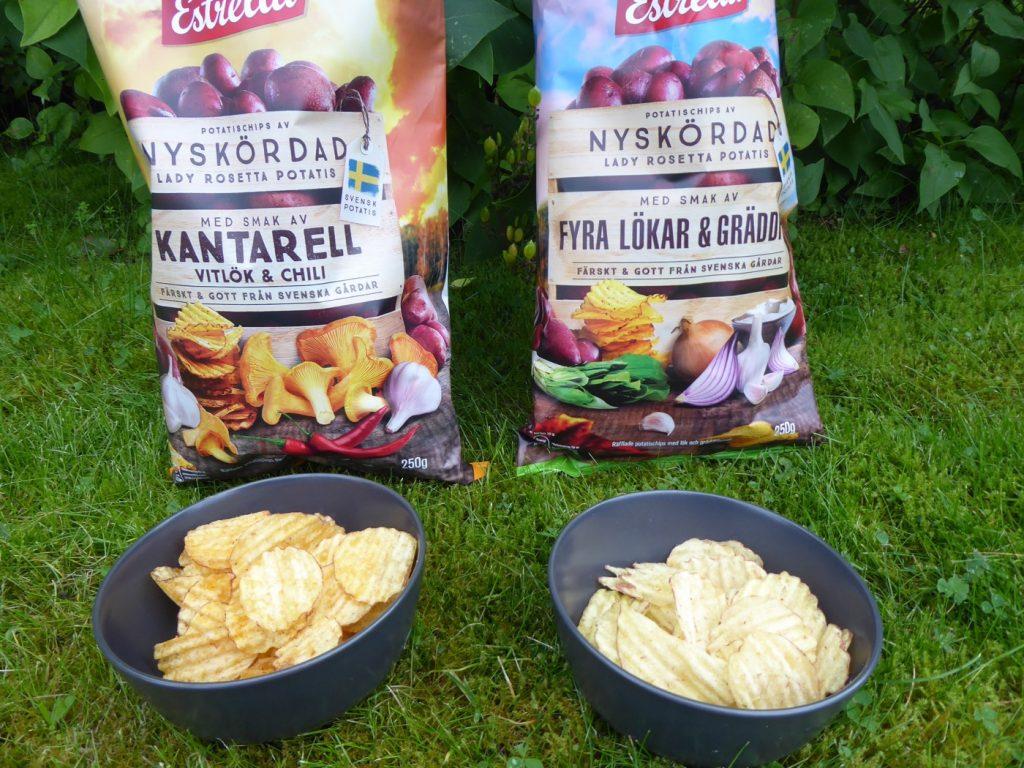 Min och barnens favorit blev helt otippat Kantarell, vitlök & chili