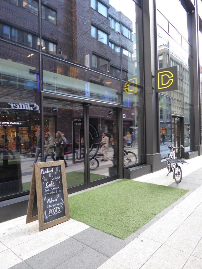 Downtown Campers café och mötesplats