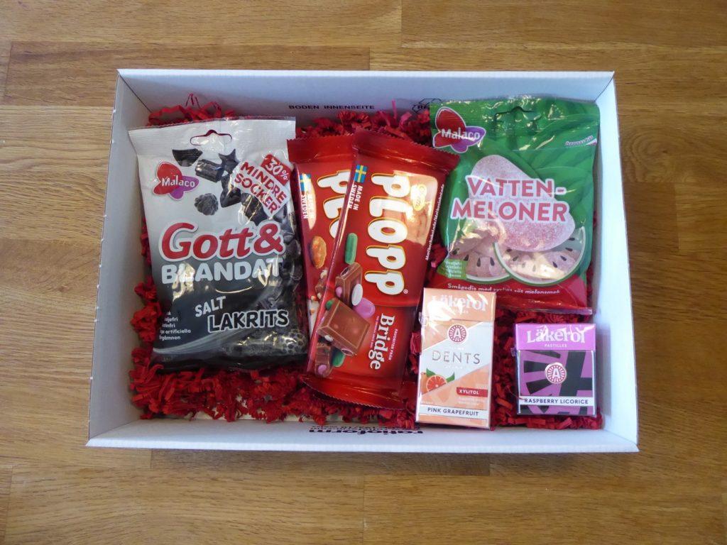 Det är alltid en fröjd att få paket från Cloetta!