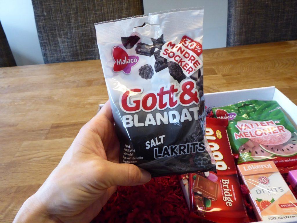 Gott & Blandat Salt lakrits med 30% mindre socker
