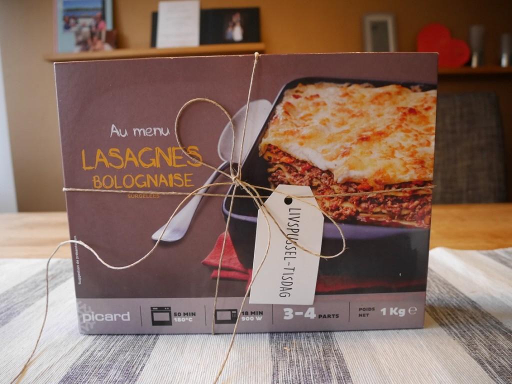 Lasagne Bolognese en tisdag när livet kommer emellan.