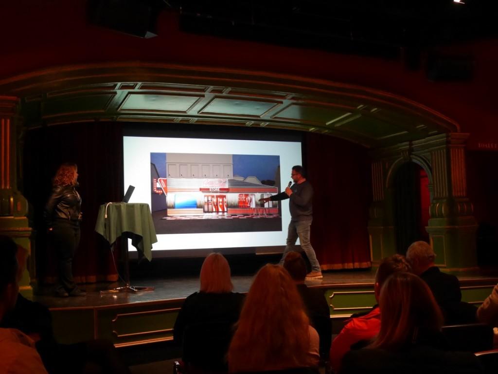Magnus Widell, VD på Gröna Lund, berättar om nyheten Coca Cola Store.
