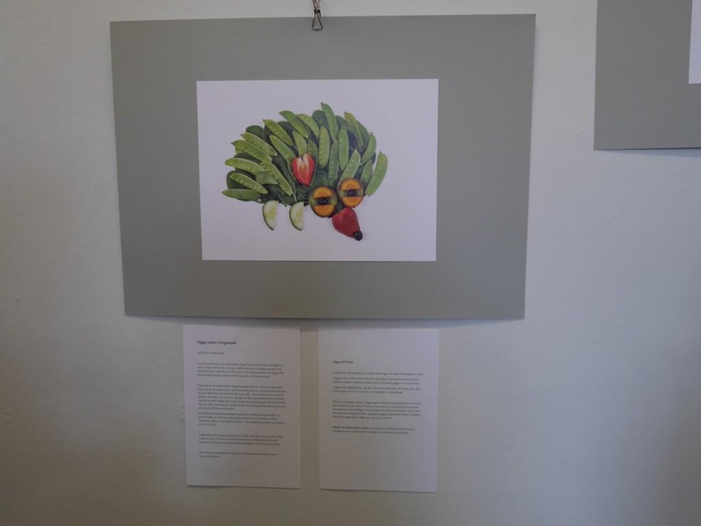 Fantasifulla frukt- och grönttavlor och spännande saga!