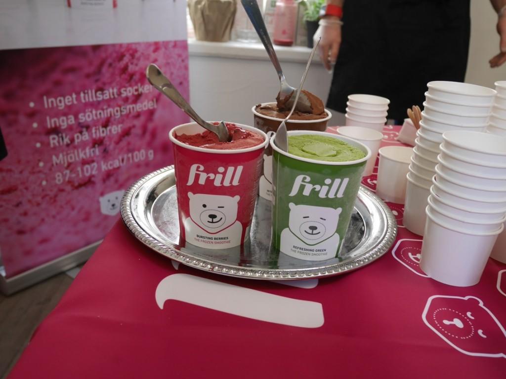 Frill, den nyttiga glassen!