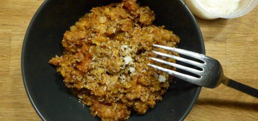 Köttfärssås 50/50 i Crock Pot
