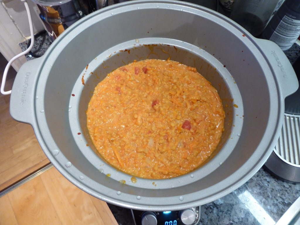 Magiskt god dhal i Crock Pot