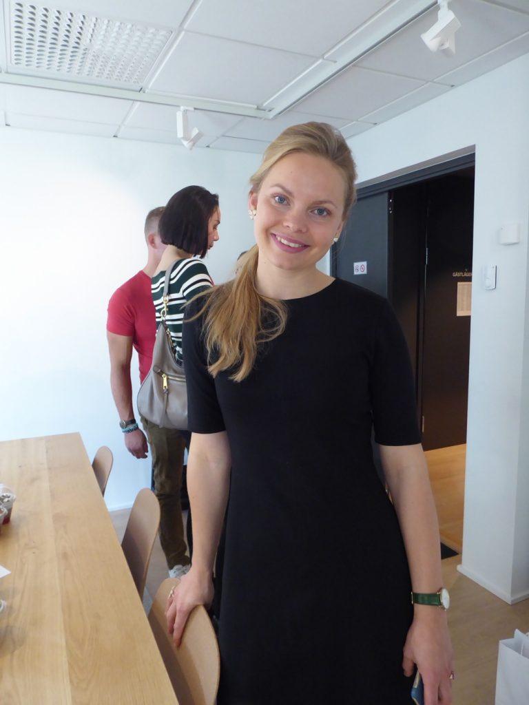 Josefin Lindroth, VD på företaget Wellme