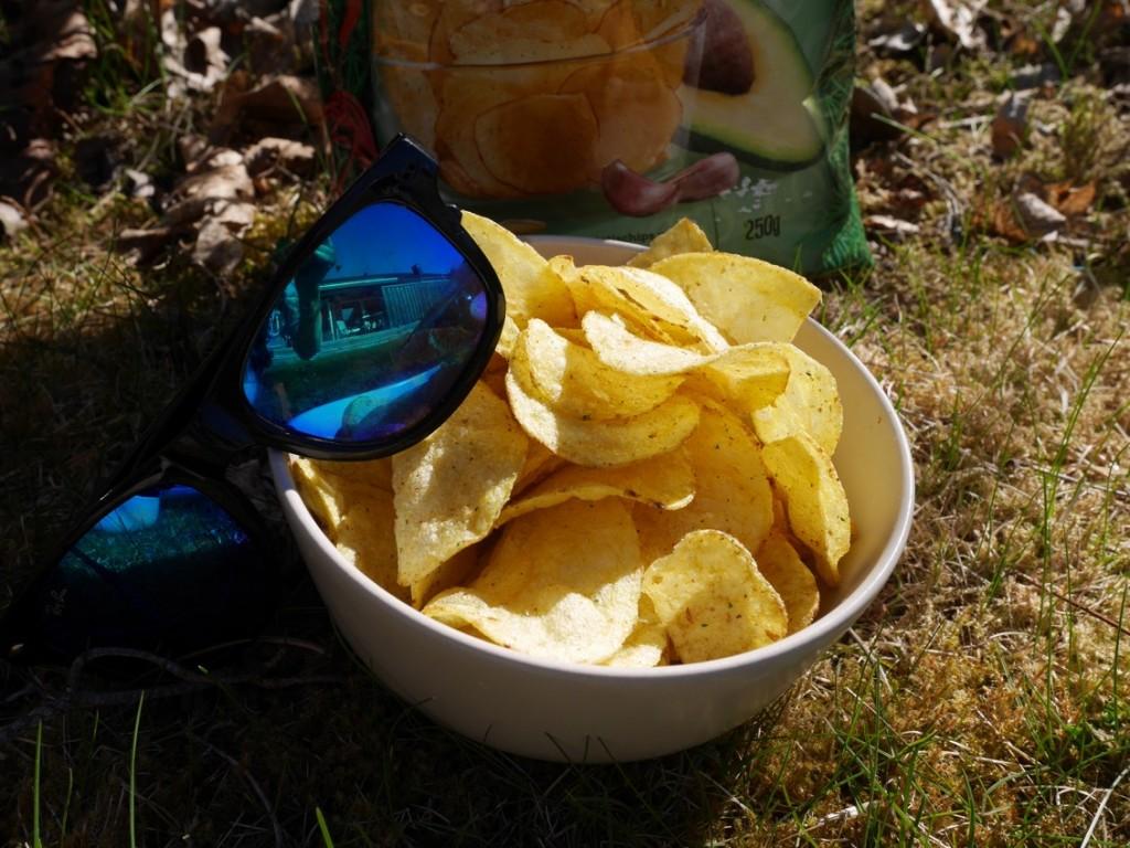 Riktigt salta och goda chips!
