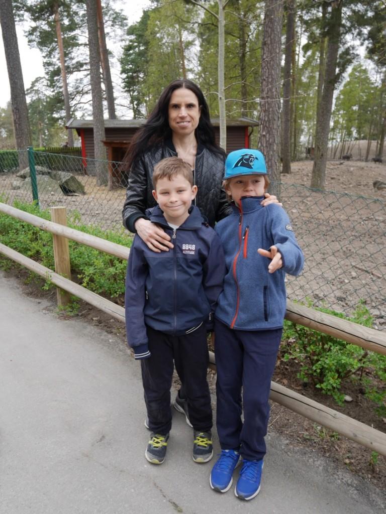 Äntligen öppnar Parken Zoo för säsongen.