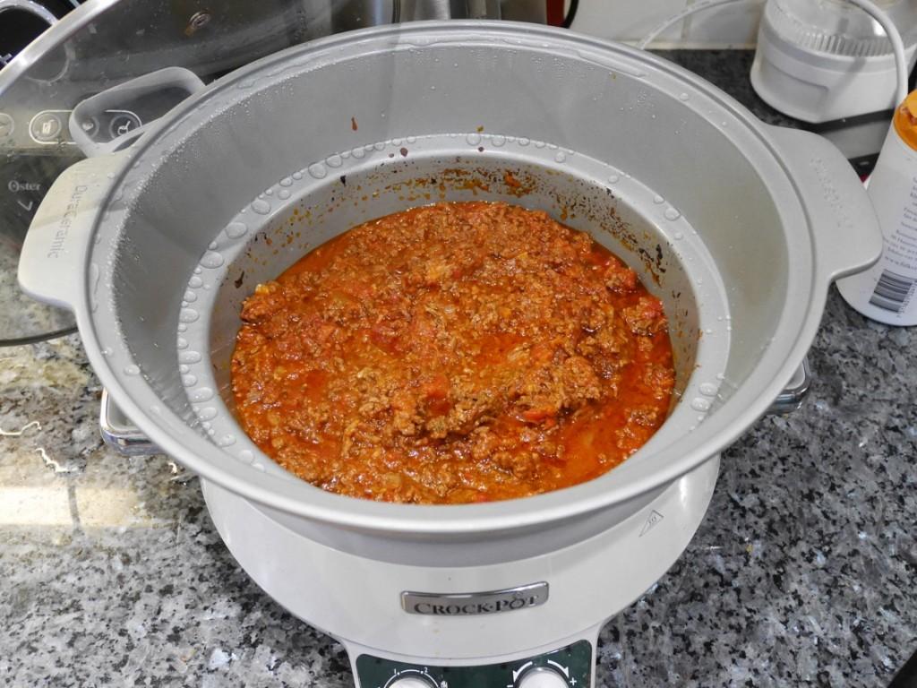 Köttfärssås. vardagsfavorit i Crock-Pot!