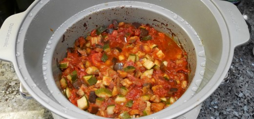 Ratatouille i Crock-Pot