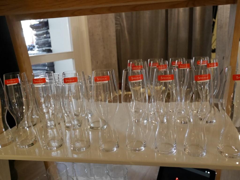 Glas från Spieglau.