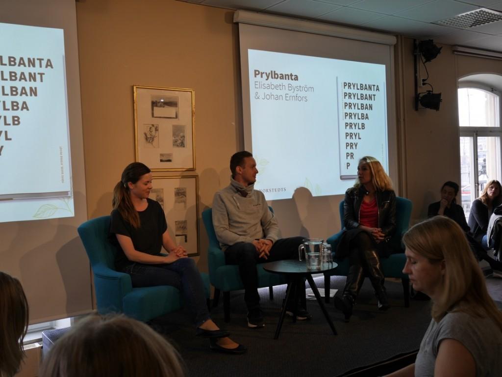 Prylbanta - Elisabeth Byström & Johan Ernfors