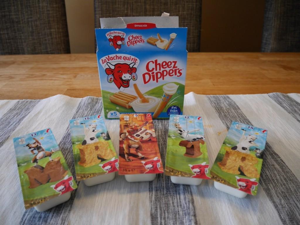 5 portionsförpackningar i en kartong.