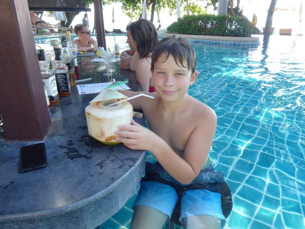 En efterlängtad kokosnöt!