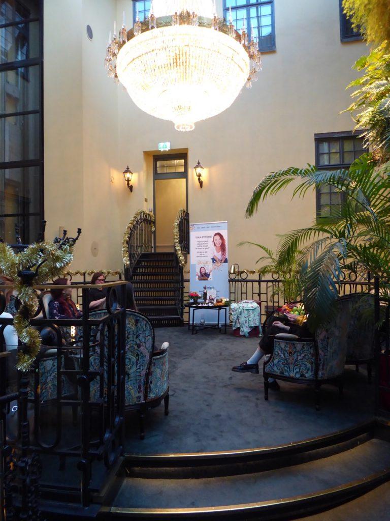 Vackra hotell Kungsträdgården.