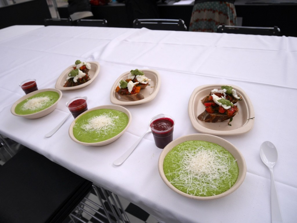 Vi gjorde tre portioner när vi ändå var igång :-)