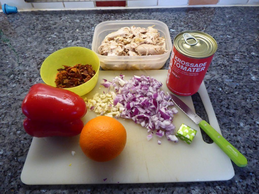 Dags att laga min nyttiga kycklinggryta i Crock Pot