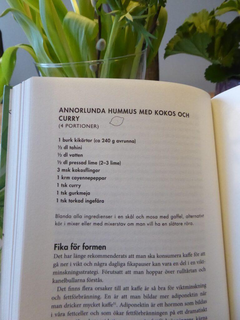 Blev så inspirerad av boken och vill ha fler recept!