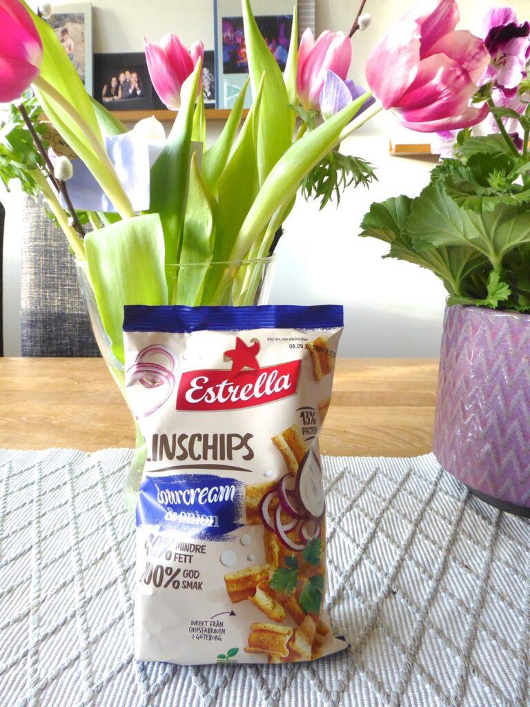 Älskar linschips men som mellis - nej tack!