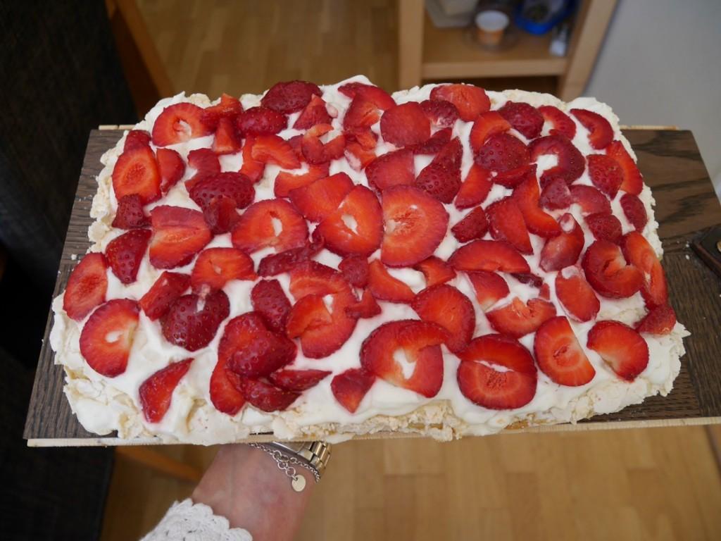 Underbara svenska jordgubbar.