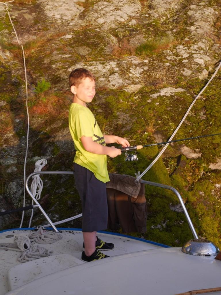 Inget bra fiske om man frågar Gus.
