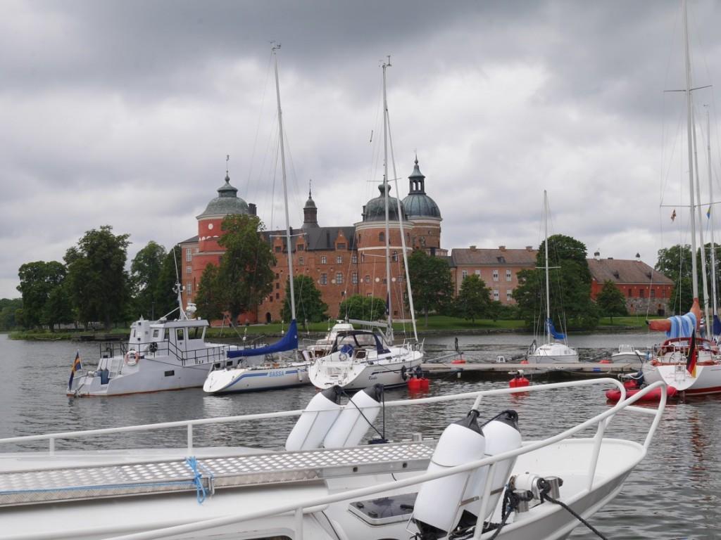 Gästhamnen i Mariefred.