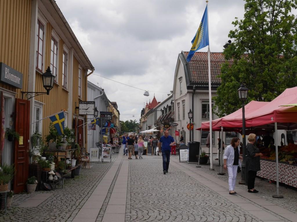 Mariestads affärsgata.