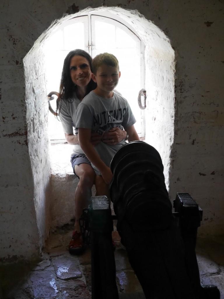 Besök på Gripsholms slott.