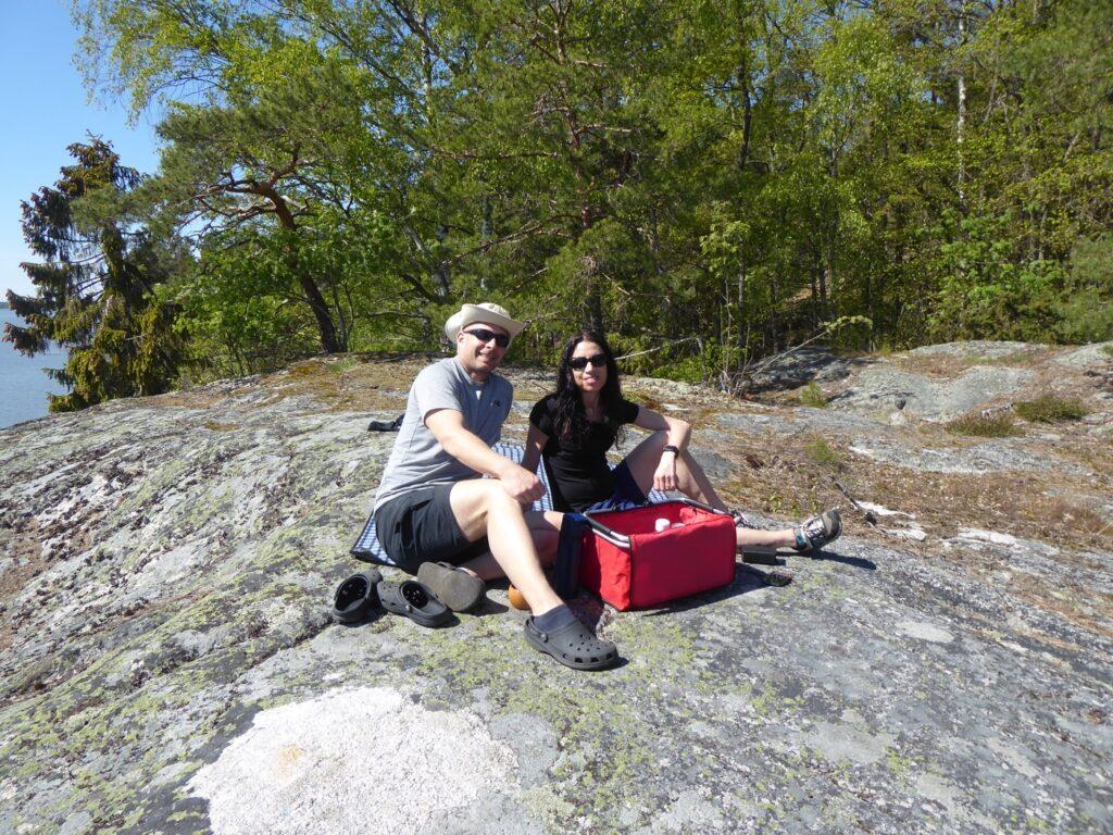 Picknick med utsikt!