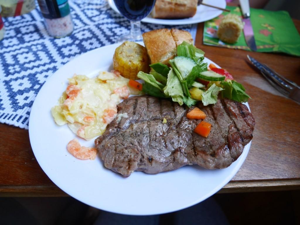 Stort älska på en perfekt grillad köttbit!