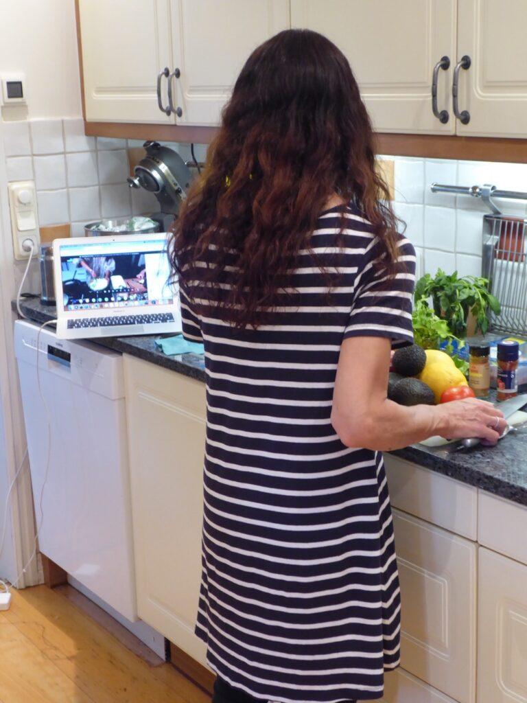 Koncentration i köket!
