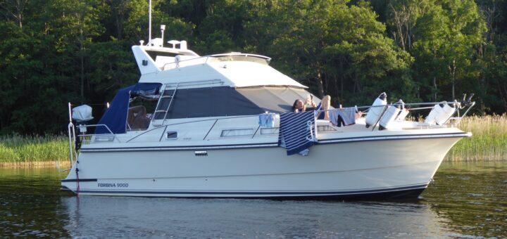 Känner mig så tacksam över att ha en egen båt!