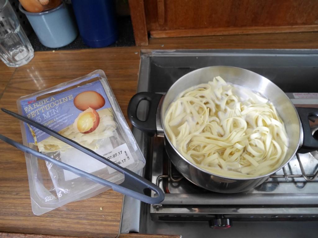 Färsk pasta är både smidigt och gott!