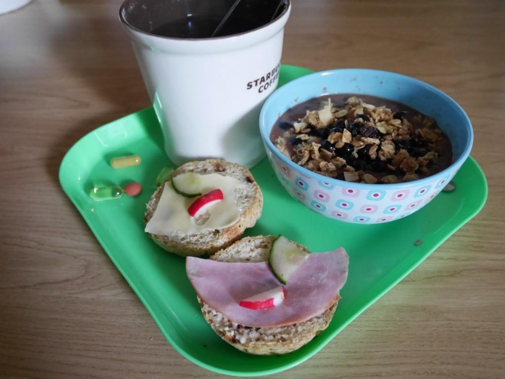 Perfekt inslag på helgens lata, långa frukostar!