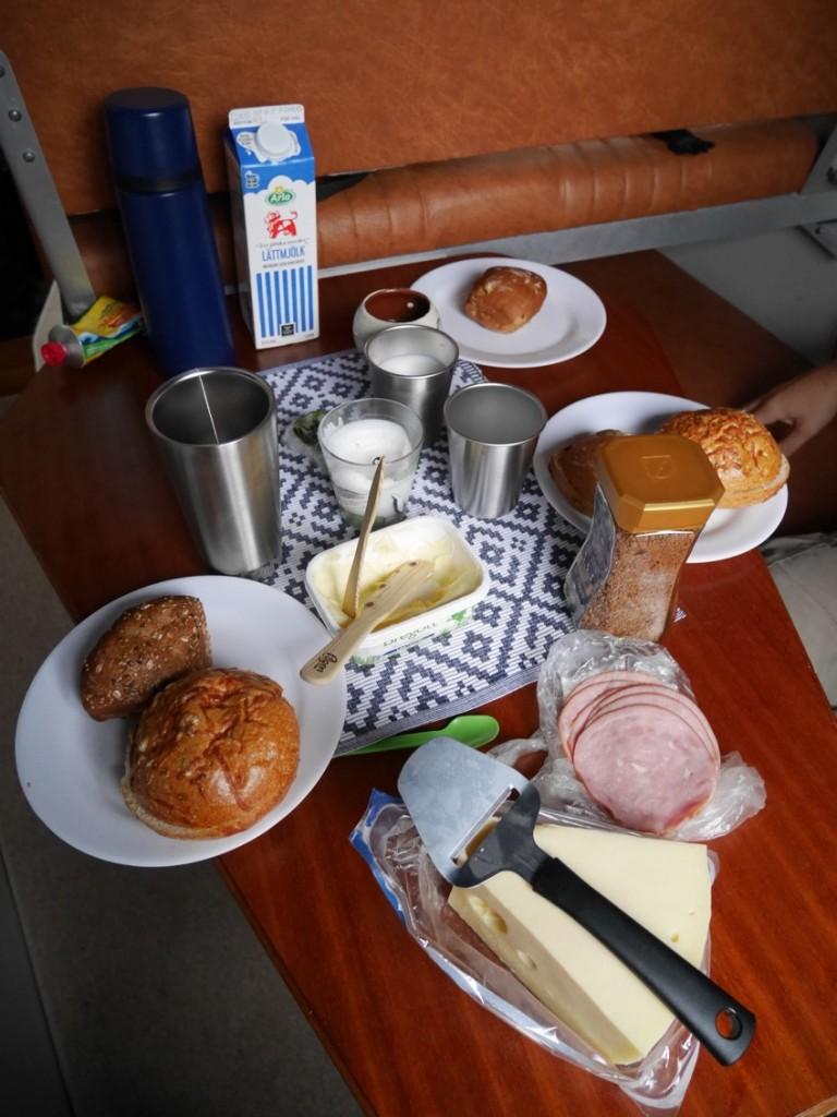 Dukat för frukost!