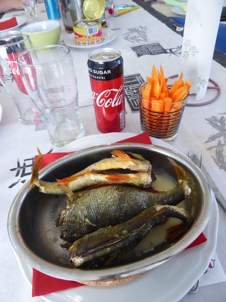 Jäst gammal stinkande fisk till de andra och färsk fisk till mig!