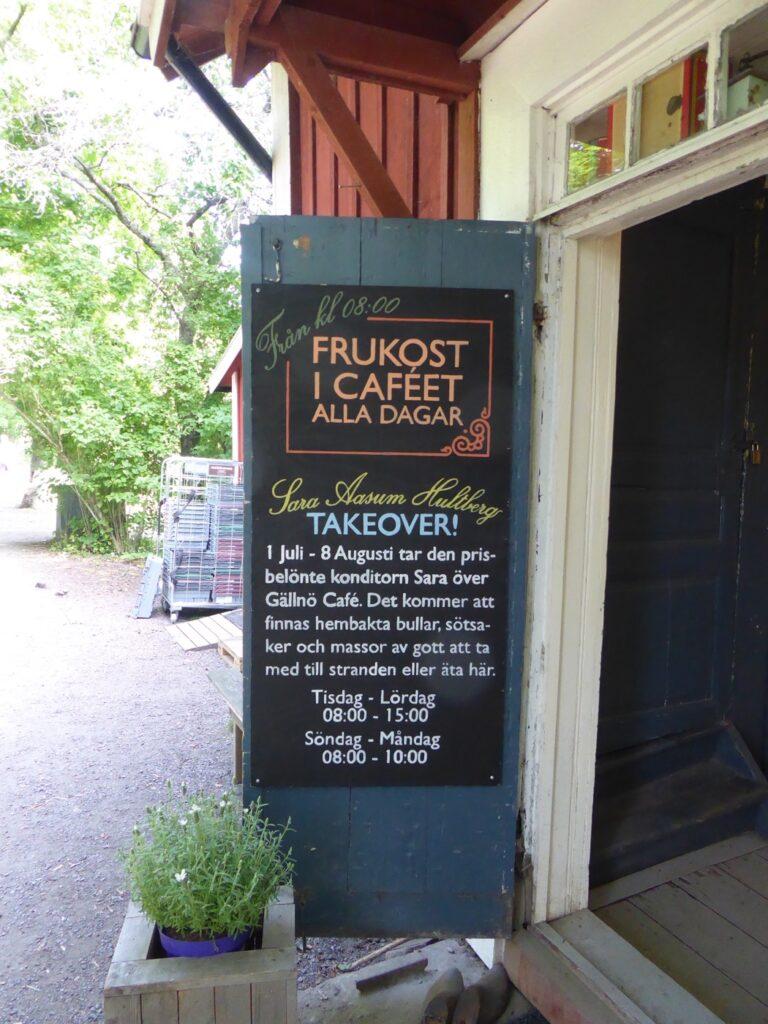Café take-over.
