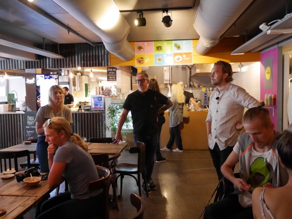 Ben & Jerry's Sverigechef, Gustav Jävligt gott Johansson och Sebastian Schauermann från Taku Taku.