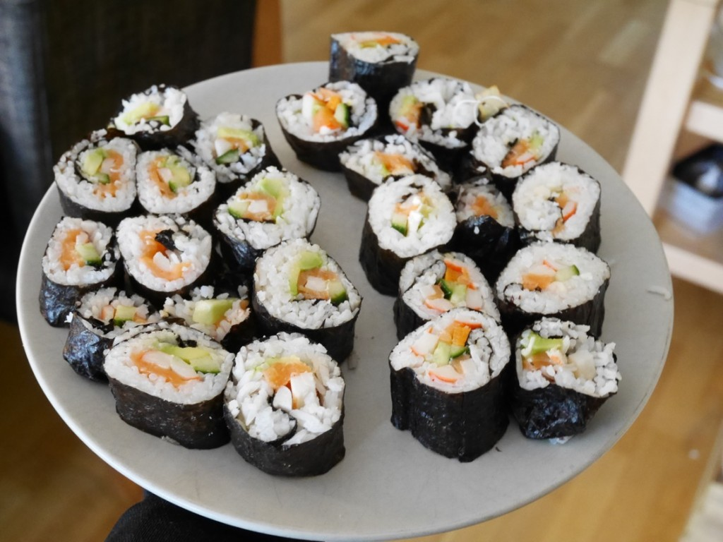 Riktigt fina sushi!