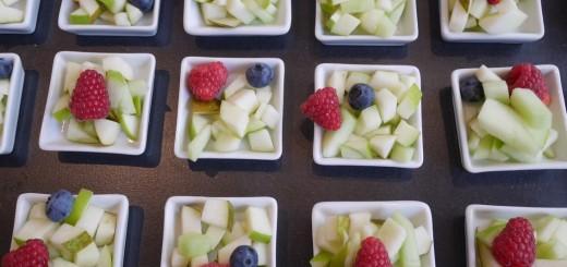 Goda fruktsallader.