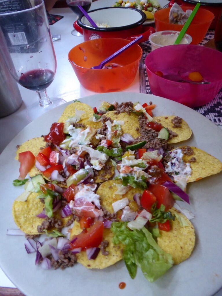 Nacho de luxe/tacos.