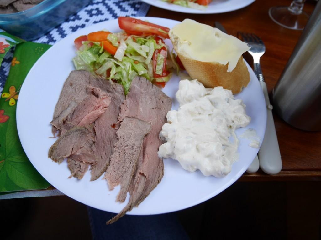 Den här lunchen alltså! MUMS!