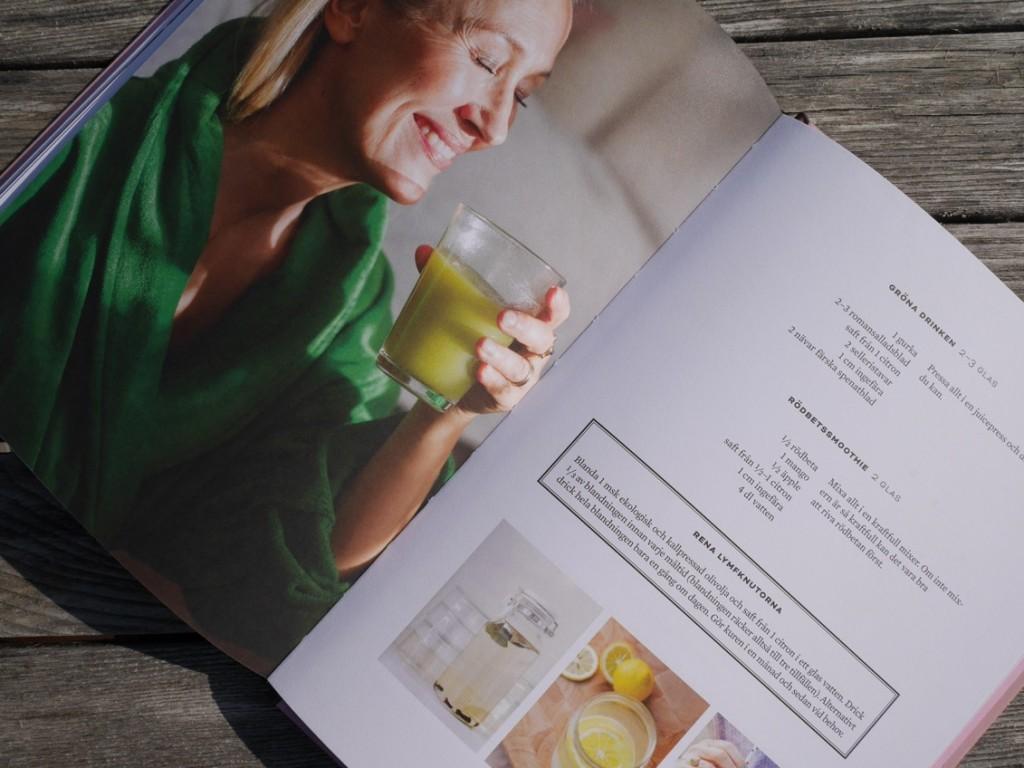 Recept som är anpassade för att få ett välfungerande lymfsystem.