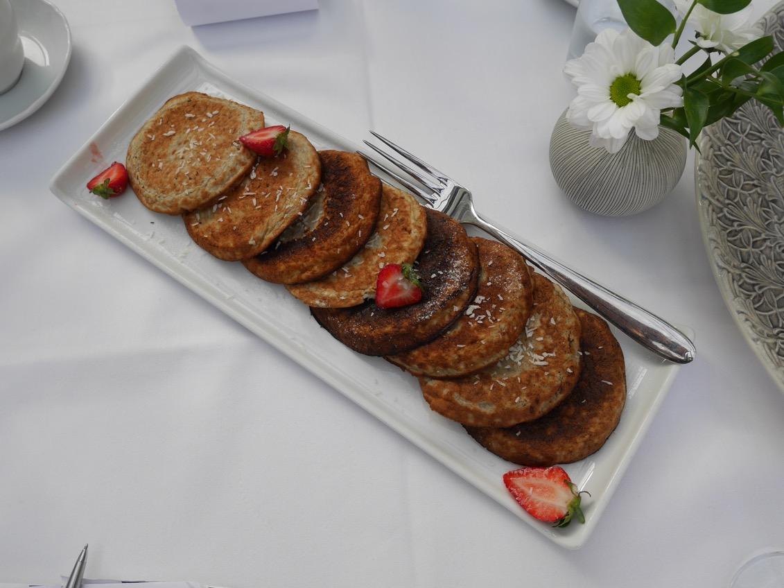 Ingen frukost är komplett utan fluffiga pannkakor!