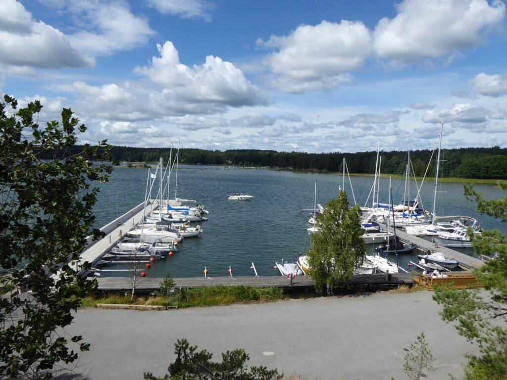 Gästhamn Askfatshamnen på Dalarö